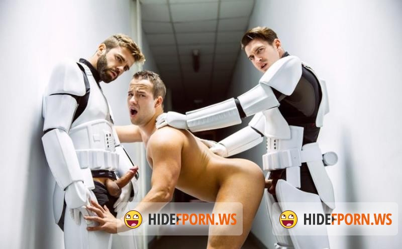 JizzOrgy.com - Hector De Silva, Luke Adams - Star Wars 4 : A Gay XXX Parody [HD 720p]