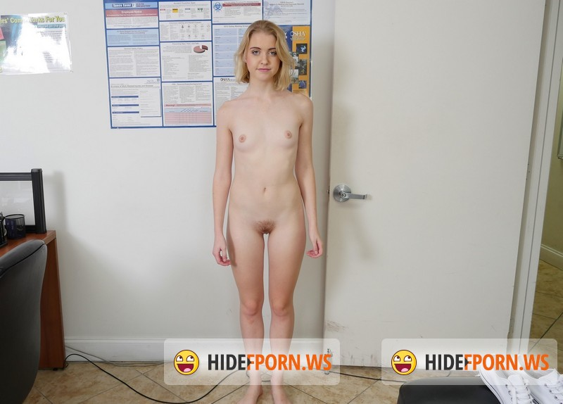 BangCasting.com - Chloe Couture - Amateur blonde fucked on cam for the first time [SD 540p]