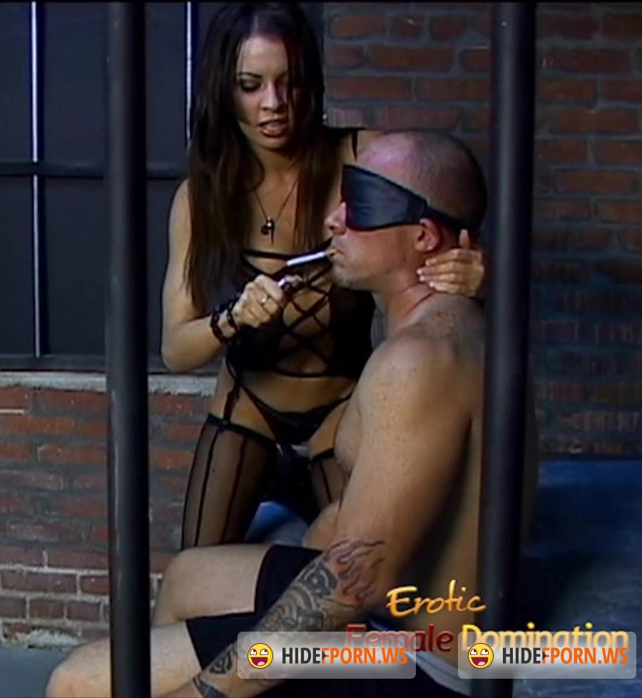 EroticFemaleDomination.com: Vanessa Lane - Tattooed Slave Dominated In A Jail Cell [FullHD 1080p]
