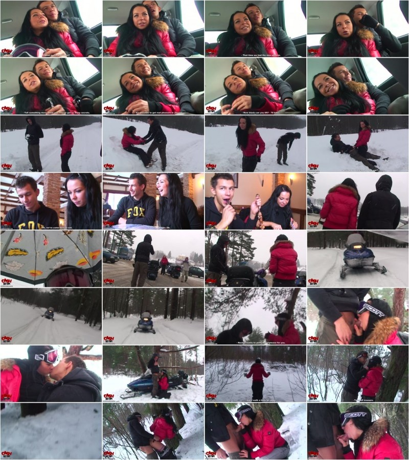 CashForSexTape.com - Nastya - We Ride the Snowmobiles [HD 720p]