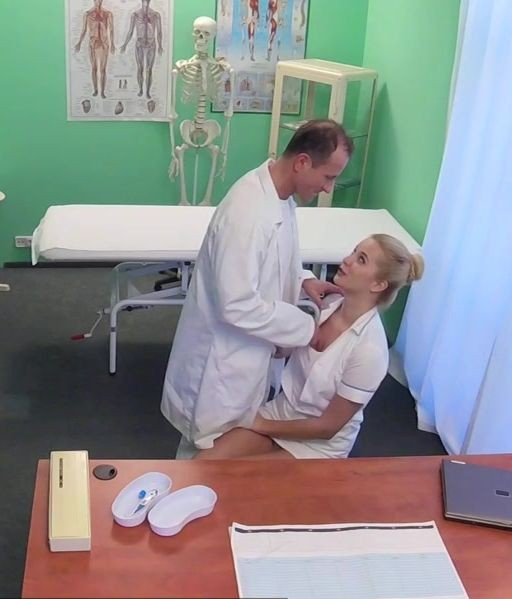 FakeHospital.com - Nikky - Sexy nurse gets creampied by doctor E218 [HD]