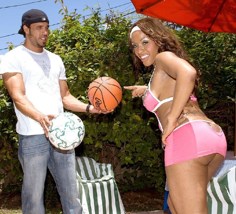 BootyLiciousMag.com/PornMegaLoad.com - Ayana Angel - One-on-One Ballin [SD]