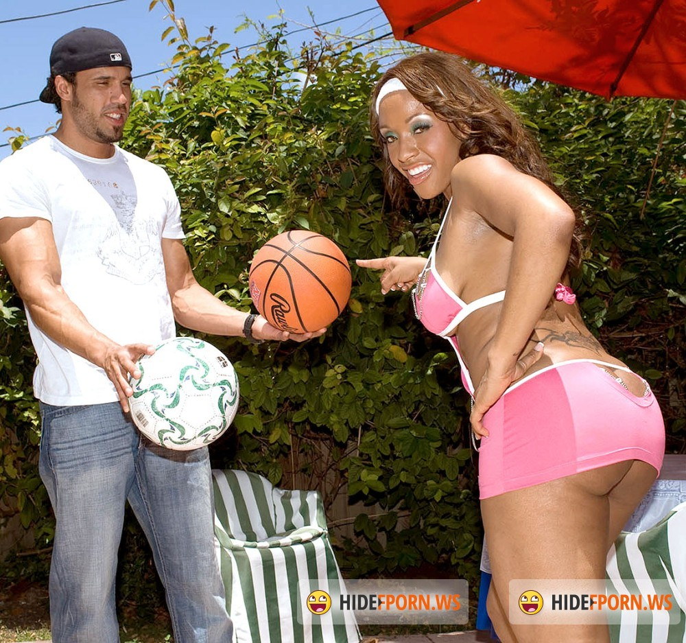 BootyLiciousMag/PornMegaLoad - Ayana Angel - One-on-One Ballin [FullHD 1080p]