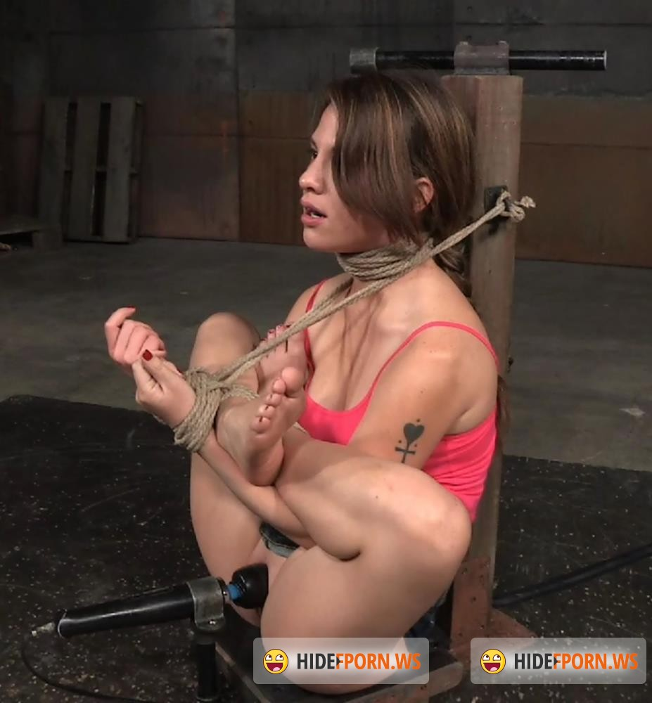 SexuallyBroken - Devilynne - 5 foot high girl next door Devilynne tightly tied in strict bondage with epic drooling deepthroat! [HD 720p]
