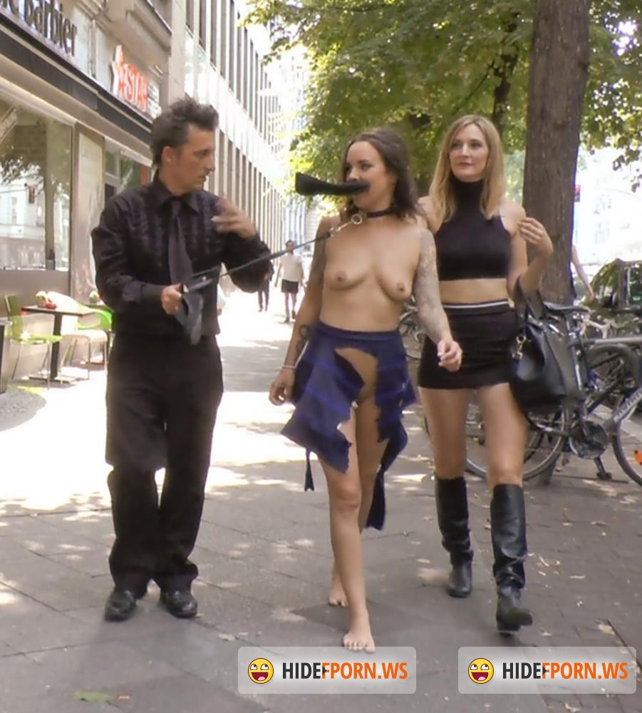 PublicDisgrace/Kink - Mona Wales, Conny Dachs, Coco Chanal - Porno Virginty Taken With A Public Double Penetration [HD 720p]