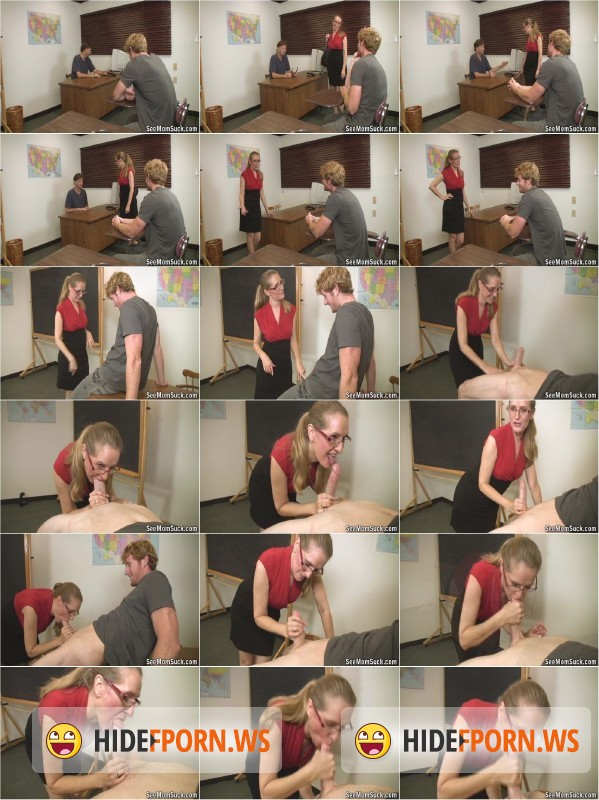 SeeMomSuck.com - Sara James - Milf Sara James Facial [SD 480p]