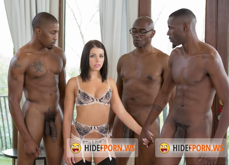 Blacked.com - Adriana Chechik - Brunette Babe Takes Trio of BBCs [SD 480p]