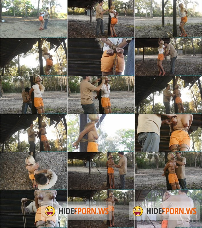 Futilestruggles.com/Clips4Sale.com - Amanda Foxx - Leashed, Hobbled, Hitched, then Tied to a Post in the Dilapidated Barn - Part 1 [HD 720p]