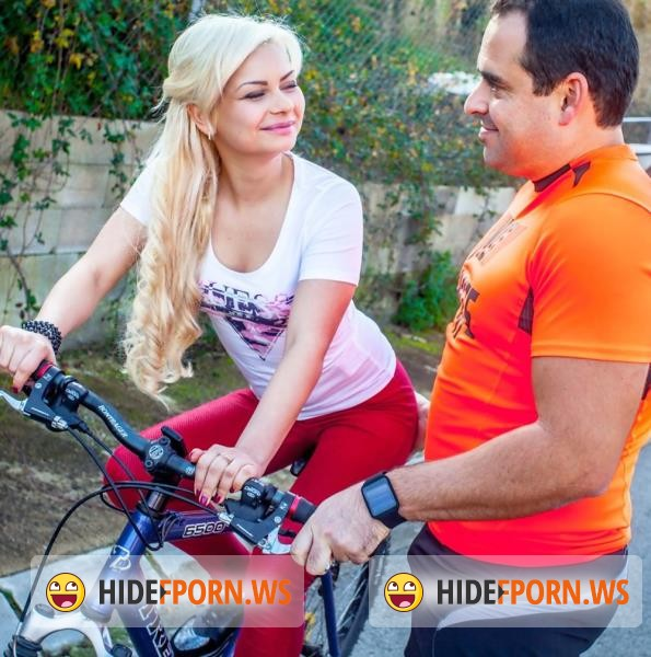WTFPass.com - Lana Sweet, Xavi - Bicycle Ride Gets A Sexy Blonde Stanger Horny [HD 720p]