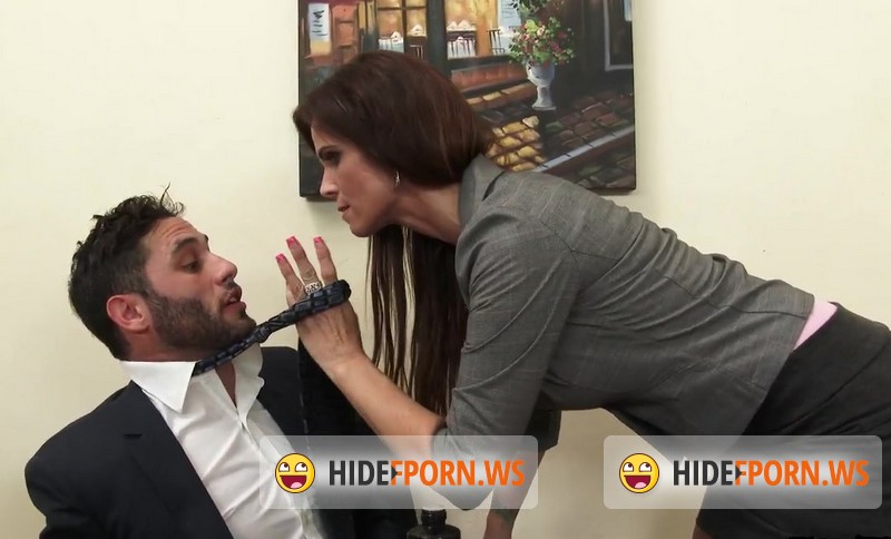 MyMilfBoss.com - Syren De Mer - Sexy MILF Boss Exploits Employee for Dick [SD 480p]