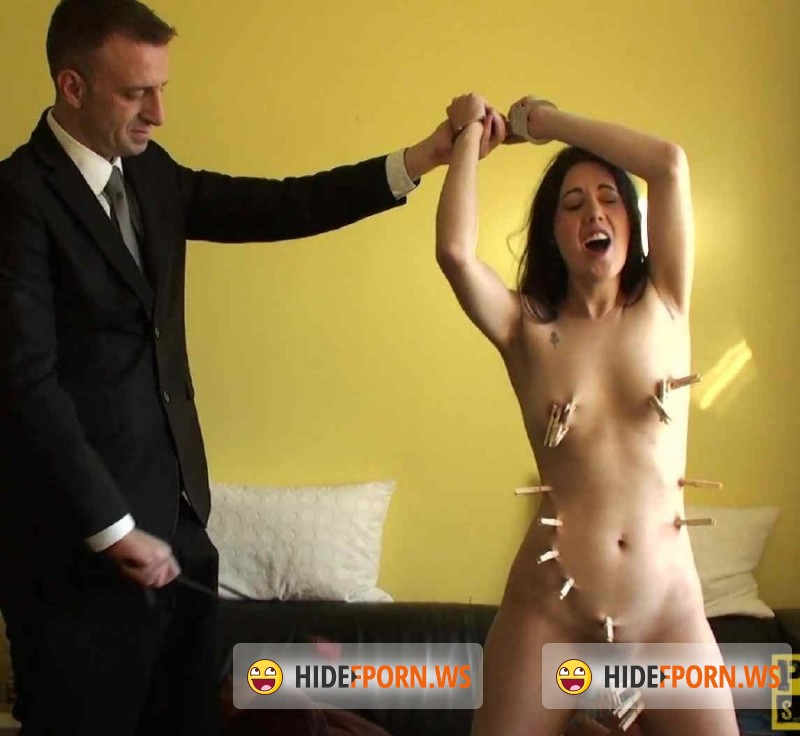 PascalsSubSluts.com - Honesty Calliaro -  Honesty Calliaro Isnt So Honest About Her Cleaning Skills, So She Gets Spanked [FullHD 1080p]