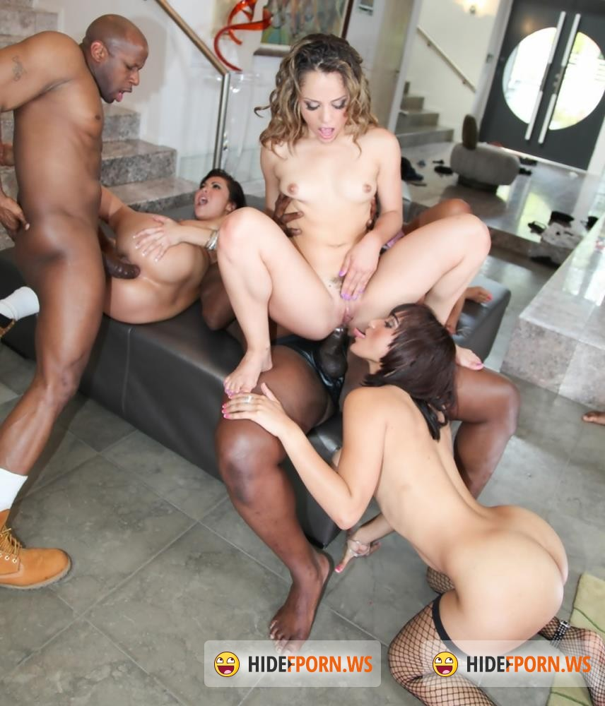 JulesJordan - Kristina Rose, Leilani Leeanne, Lexington Steele, London Keyes, Mr. Marcus, Prince Yahshua - Interracial Orgy Fuck Fest [FullHD 1080p]
