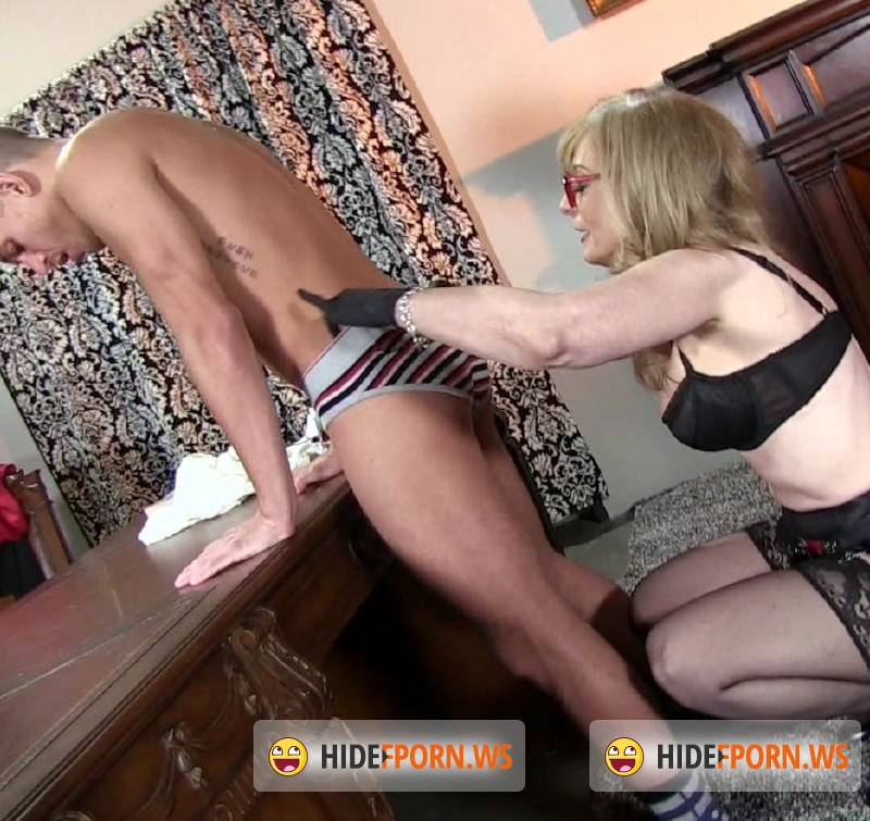 FemdomEmpire.com - Nina Hartley - Strapon Correction [FullHD 1080p]