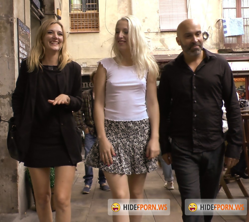 PublicDisgrace/Kink - Max Cortes, Mona Wales, Liz Rainbow - Eager Blond Nimpho Needs All Her Holes Publicly Pounded [HD 720p]