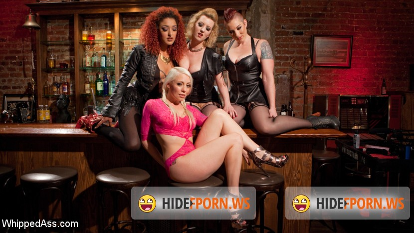 WhippedAss.com/Kink.com: Lorelei Lee , Cherry Torn , Mistress Kara, Daisy Ducati - Dyke Gang 2: Lorelei Lee Devoured by Hot Horny Lesbians! [SD 540p]
