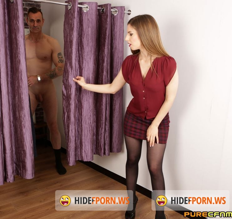PureCFNM.com - Bianka Brill, Christen Courtney, Sasha Steele, Stella Cox  - Dressing Room Flasher [SD 480p]