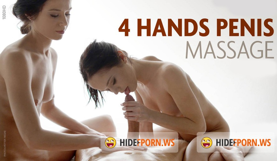 Hegre-Art.com - Julietta and Magdalena - 4 Hands Penis Massage [Full HD 1080p]