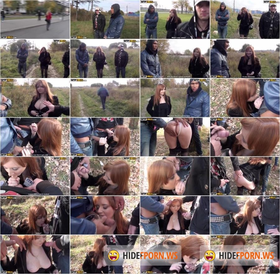 MyPickupGirls.com - Odile - Awesome outdoor porn vid with a redhead [SD 432p]