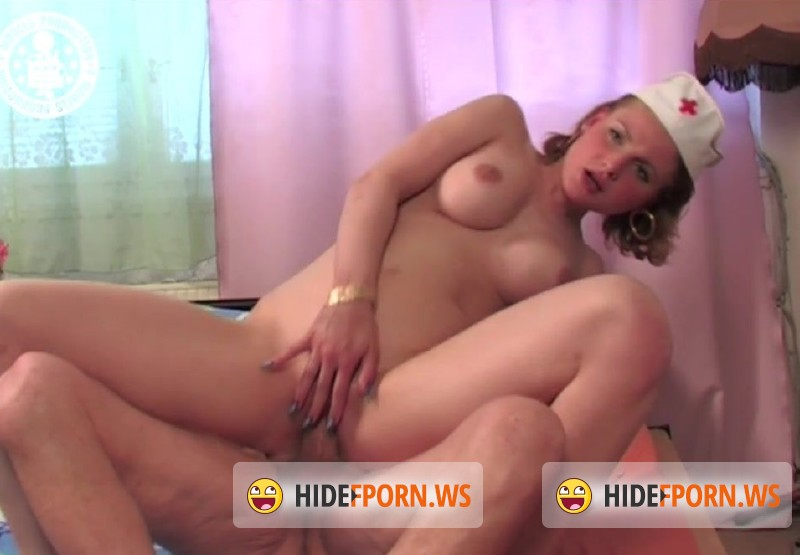 RetroPornCZ.com - Petra - Old and bedridden but still manages to fuck his nurse [HD 720p]