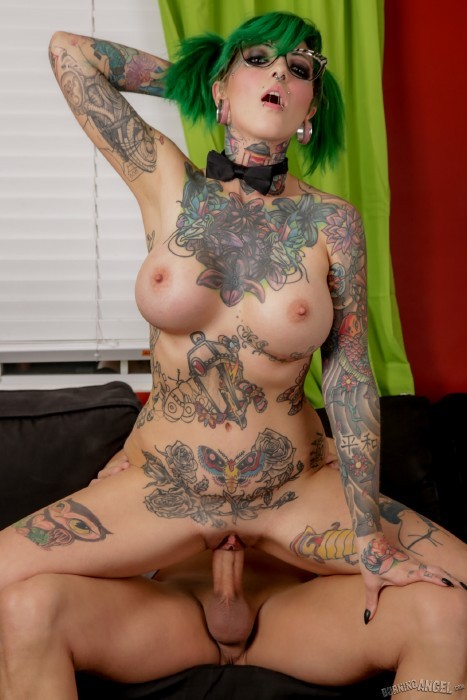 BurningAngel.com - Sydnee Vicious - Cum On My Tattoo [FullHD]