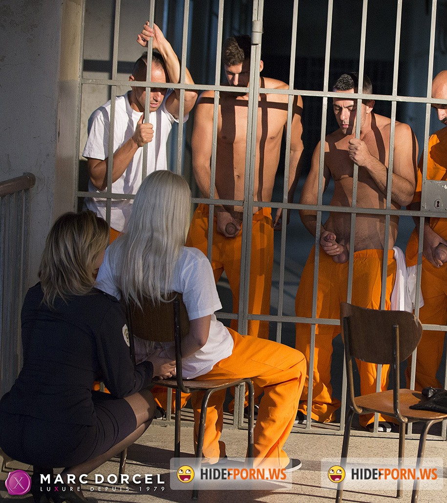 DorcelClub.com - Blanche Bradburry - Young Inmate Offered To Prisoners Craving Hard Sex [SD]