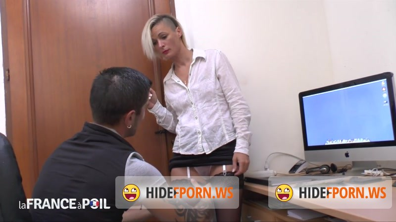 LaFRANCEaPoil.com - Imany - The small titted teacher in stockings is a real good cougar [HD 720p]