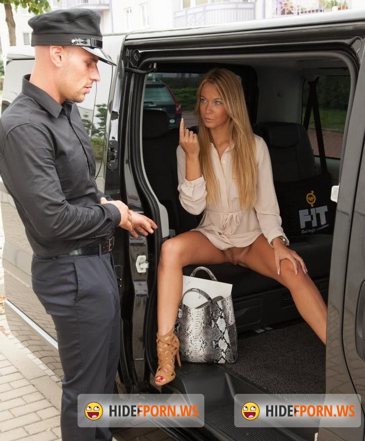 Fucked and Traffic: Angela Christin - Czech babe Angela Christin gets fucked in a van [SD 480p]