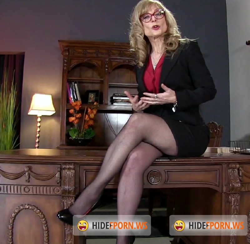 FemdomEmpire.com - Nina Hartley - Job Interview JOI Test [FullHD 1080p]