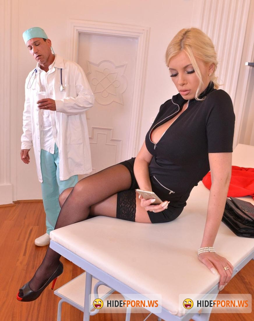 DDBusty:  Dona Bell - Doctors Fuckpointment - Blonde Patient Gets Jizzed On Big Tits [HD 720p]