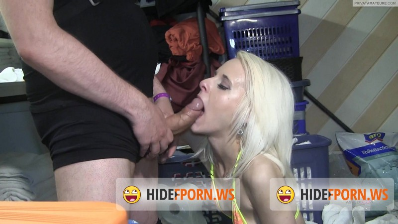 MyDirtyHobby.com - Ashlee-Cox - Waschekammer Blowjob Party Facial [FullHD 1080p]