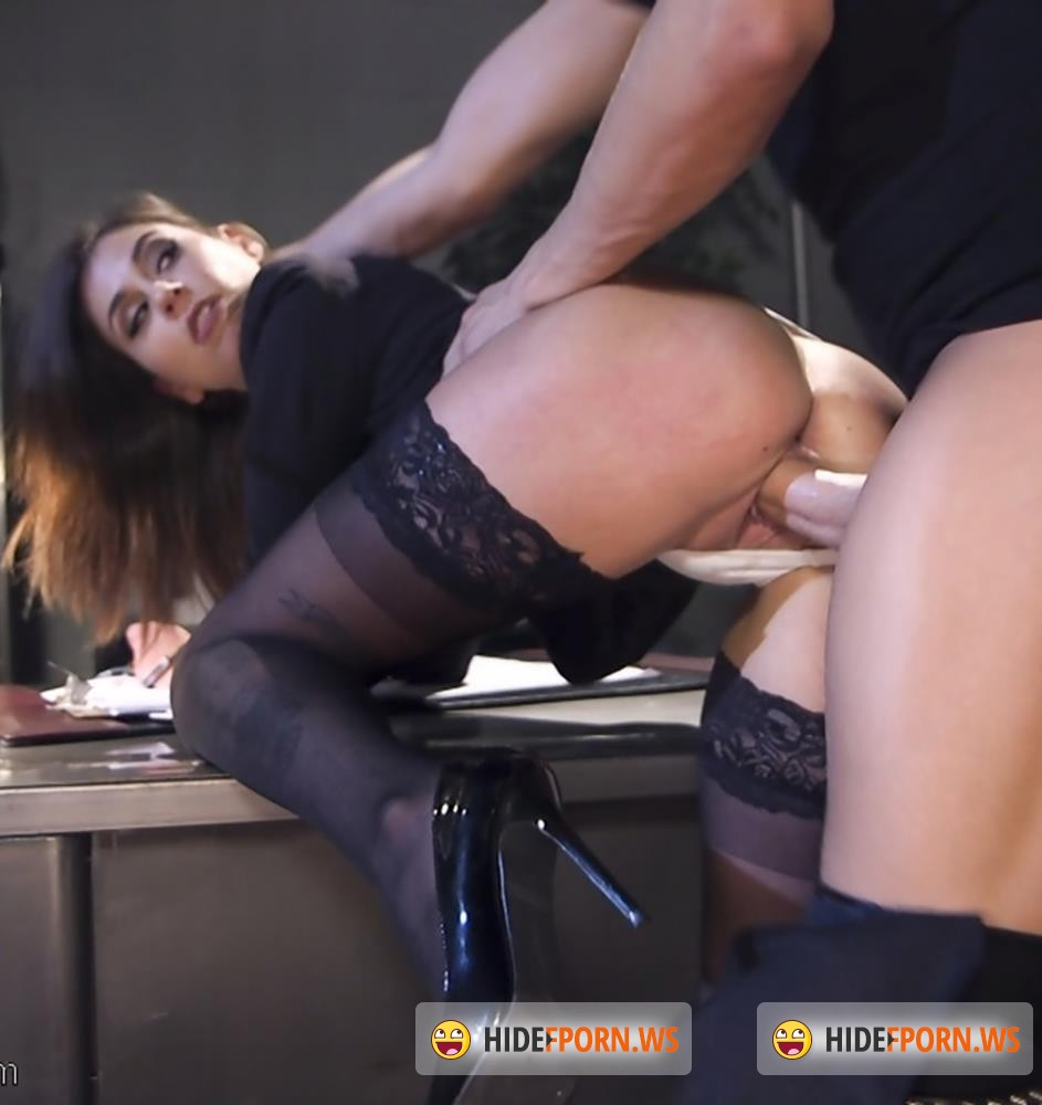 SexAndSubmission/Kink - Xander Corvus, Kacie Castle - Rookie Detective Held Anal Hostage [SD 540p]
