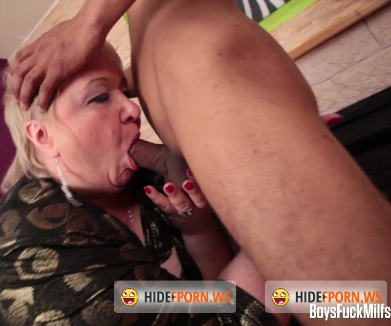 BoysFuckMilfs.com - Gertrud - A chubby Milf and her tiny toy boy [FullHD 1080p]
