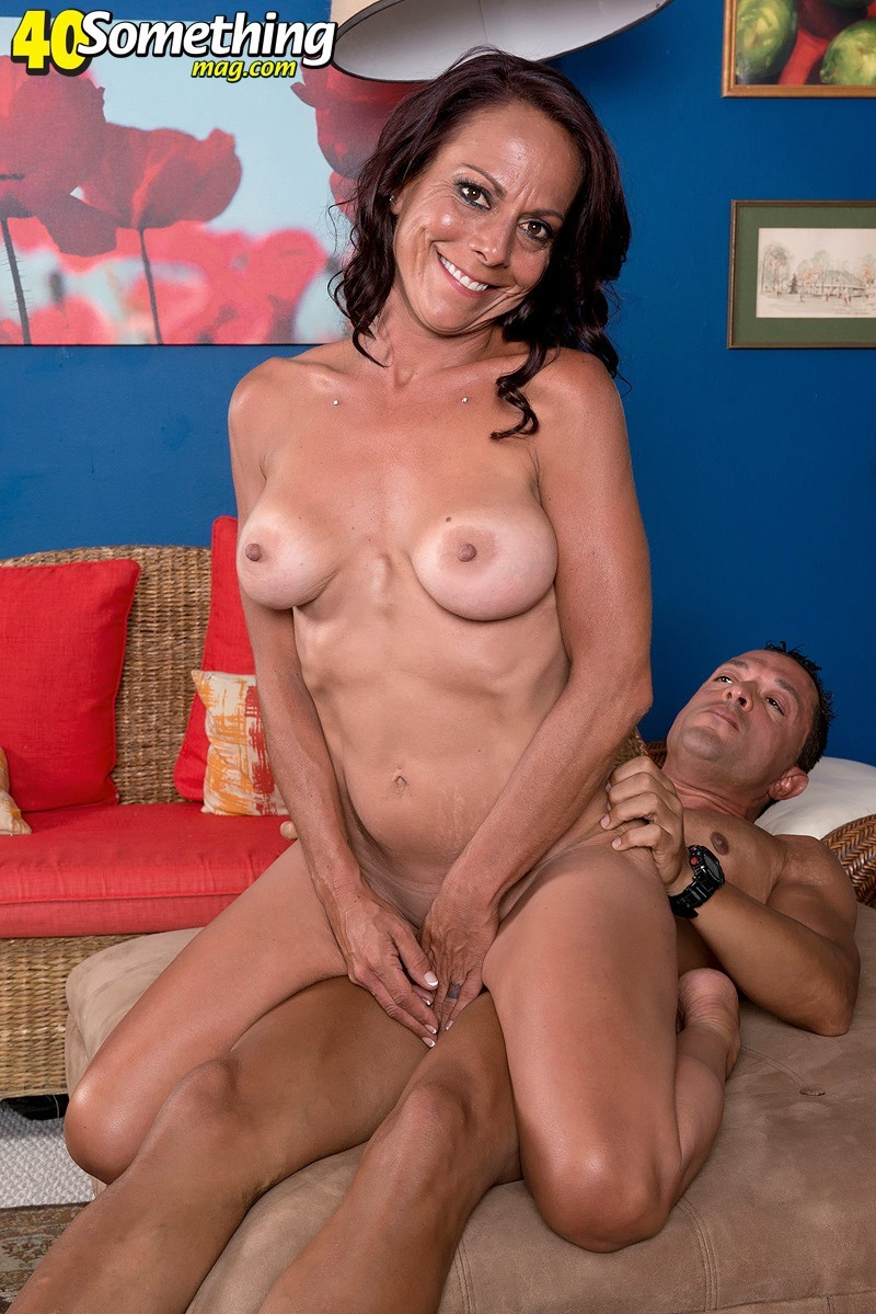 40SomethingMag.com/PornMegaLoad.com - Karyn Martin - Karyn Martin enjoys her first video fuck [HD 720p]
