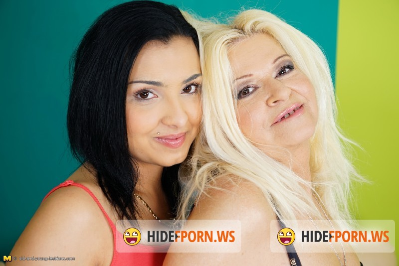 Old-and-young-lesbians.com/Mature.nl - Ilana O. (51), Denila (19) - Horny old and young lesbian couple fooling around [SD 540p]