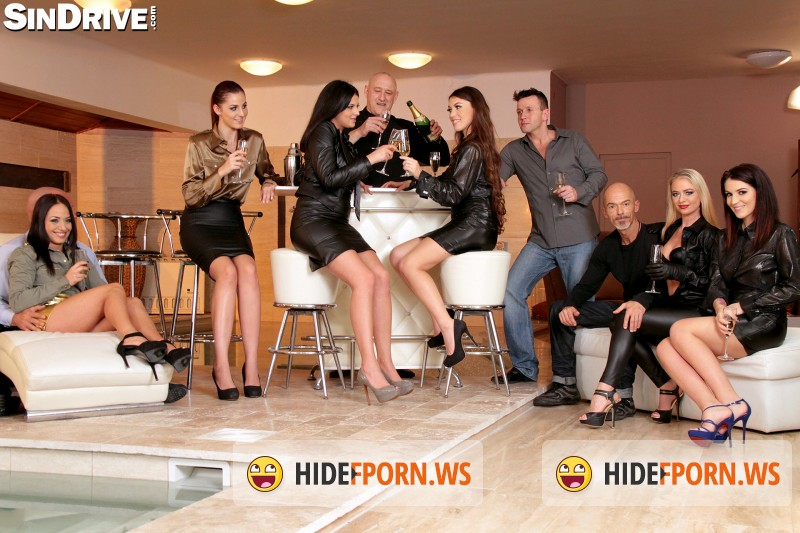 SinDrive.- Tiffany Doll, Meg Magic, Coco de Mal, Dorina Golden, Bella Beretta, Nomi Melone  - Horny House Warming Party - Fully Focused On Fuck Friends, Filth And Fantasy: Let The Glory Games Begin!!! [FullHD]