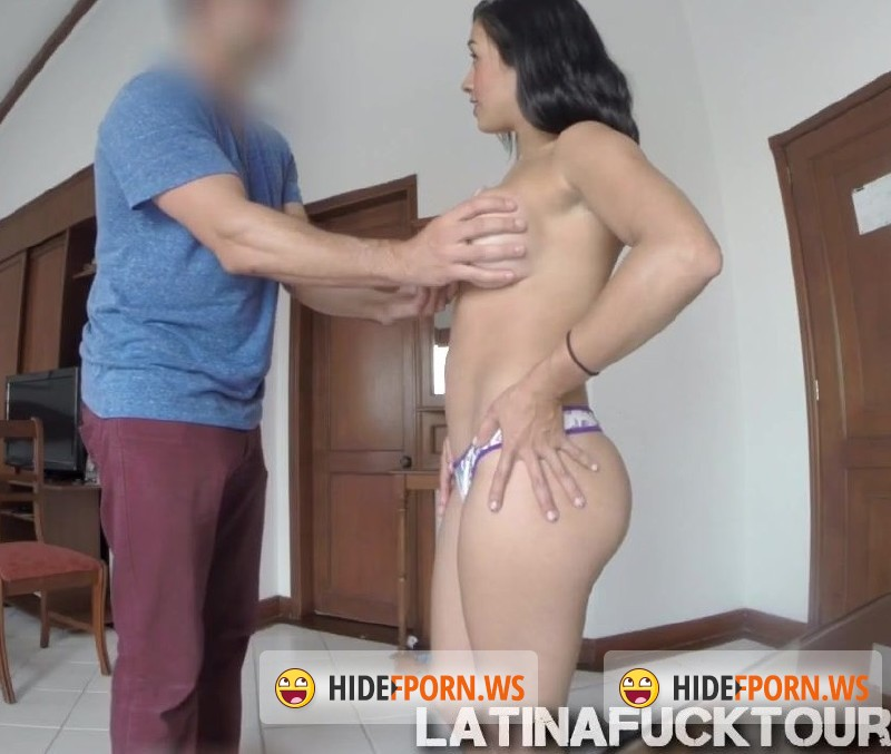LatinaFuckTour.com - Karina - Hot Colombian brunette Karina seeks for job in the wrong place [HD 720p]