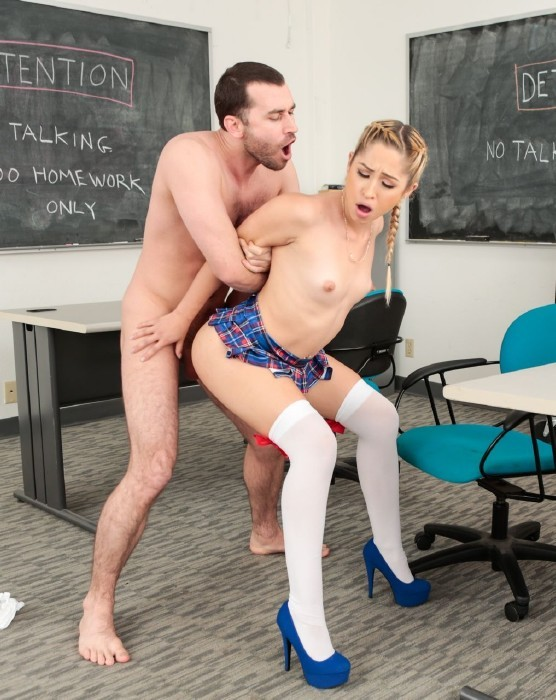 Realityjunkies.com - Goldie Rush, James Deen - Ex-girlfriends Make detention worth it! [FullHD]