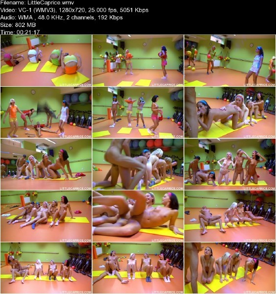 LittleCaprice.com - Little Caprice - Pilates [HD 720p]