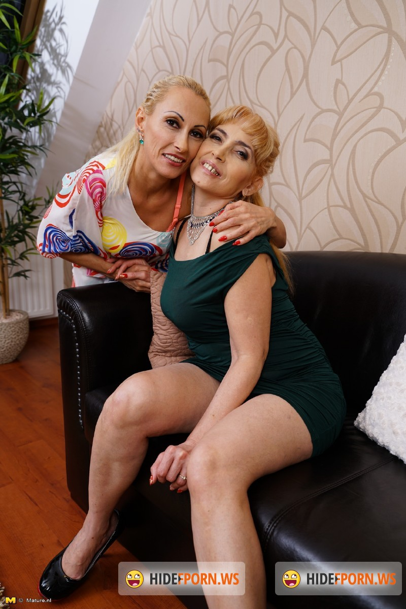 Mature.nl - Olga C. (54), Kasey (41) - Lesbian housewives fooling around [SD 540p]