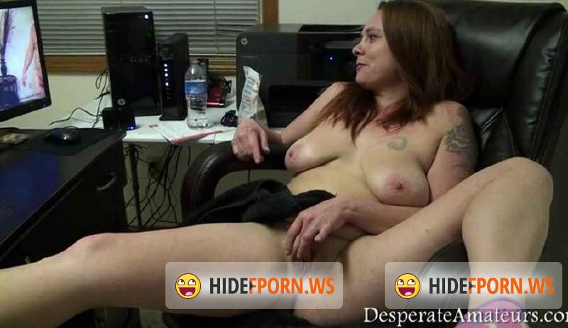 DesperateAmateurs.com - Gracie - Gracie watches herself on film BTS [SD 400p]
