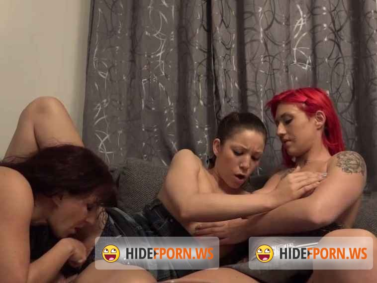 ParadiseFilms.com - Natalie Hot , Samy Saint , Red Mery  - Sass And The City [SD 584p]