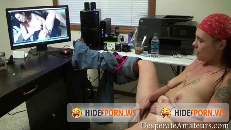 DesperateAmateurs.com - Gracie - Gracie watches herself watching herself BTS [SD 400p]