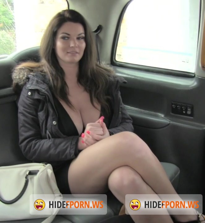Sex in Taxi: Tasha - Big tits and sexy eyes takes cock [HD 720p]