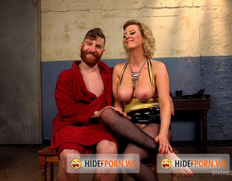 DivineBitches.com/Kink.com - Cherry Torn, Sebastian Keys - Pretty boy slave humiliated and pegged by Mistress Cherry Torn! [HD 720p]