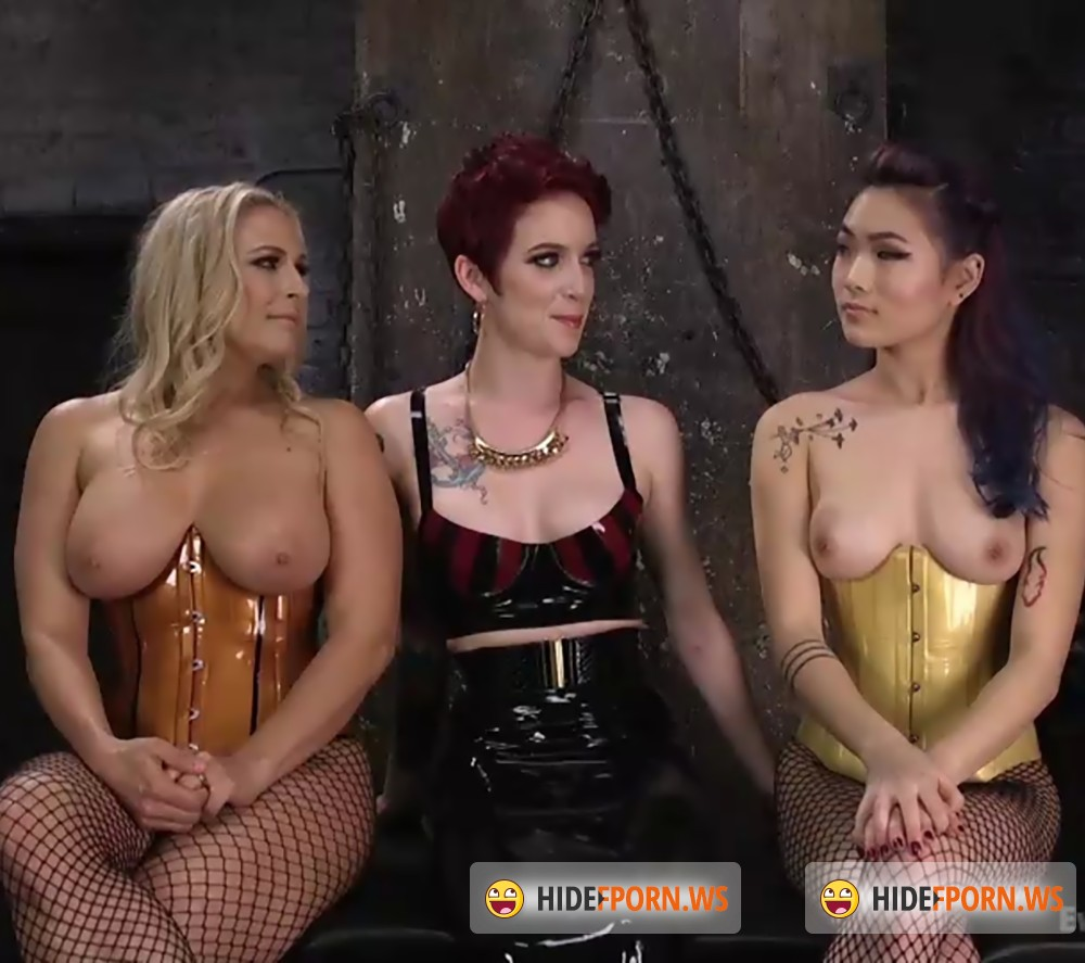 EveryThingButt/Kink - Jeze Belle, Angel Allwood, Lea Hart - Jeze Belle Has Two Submissive Anal Slaves [HD 720p]