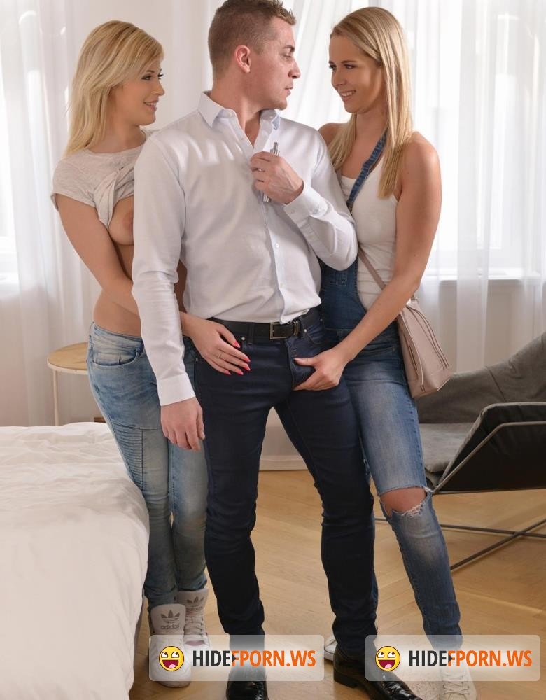 HandsonHardcore/DDFNetwork - Nikky Dream, Ria Sunn - Hunting For Cum - Stunning Blondes Get Hardcore Fucked [HD 720p]