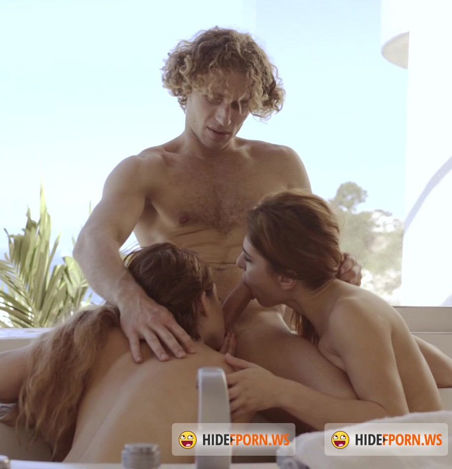 X-Art.com - Joseline, Leah Gotti - Threesome With a View [FullHD]