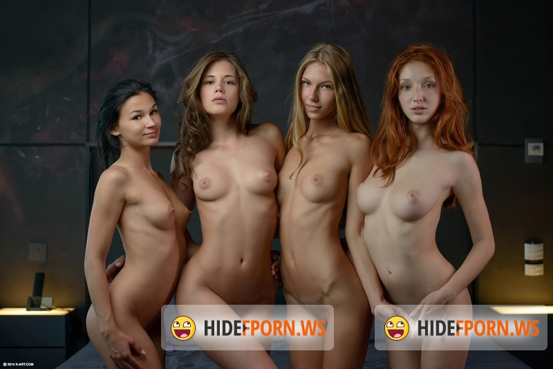 X-Art.com - Caprice, Angelica, The Red Fox, Keira - Fuck Me Four Ways [FullHD 1080p]