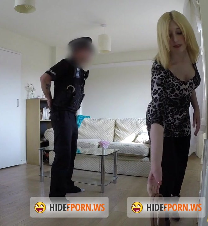 False Cop: Jessica - Slut Gets Fucked By Cop In Her Flat [HD 720p]