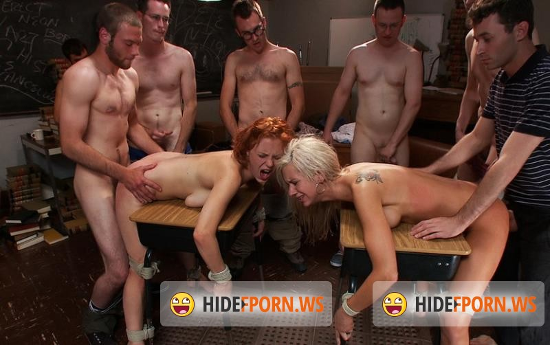 BoundGangBangs.com/Kink.com - Kaylee Hilton, Clayra Beau - Revenge of the Nerdz [HD 720p]